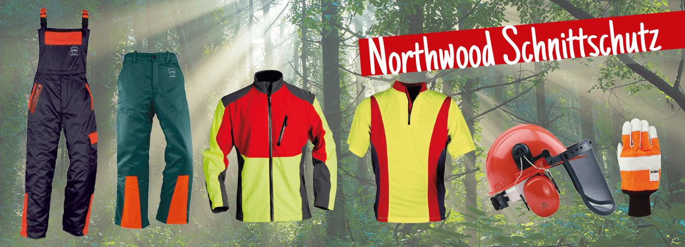 Northwood PRO Schnittschutz-Handschuh Gr XL